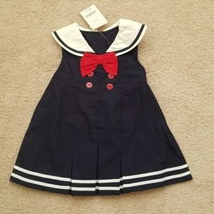 NWT Gymboree Sailor Dress Size 6-12 Months